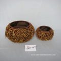 Drum-like Paper Rope Gift Basket