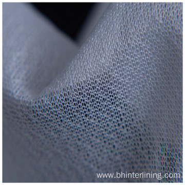 Tricot Warp Knitted woven Fusible clothing Interlining