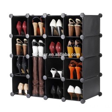 Shoe Rack Organizer / Storage Shelves - make into any Shape or Size to Organize Shoes, Clothing, Toys, DVDs and more.