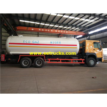 30 M3 6x4 Propane Delivery Tanker Vehicles