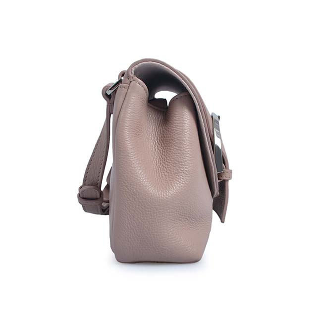 Famous Brand Genuine Leather Mini Crossbody Bag