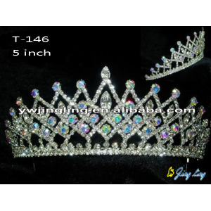 Pageant Crown For Beauty Queen  T-146