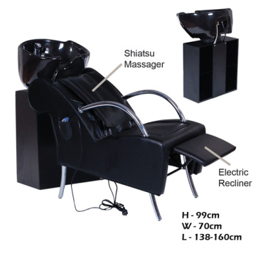 Beauty salon massage shampoo chair