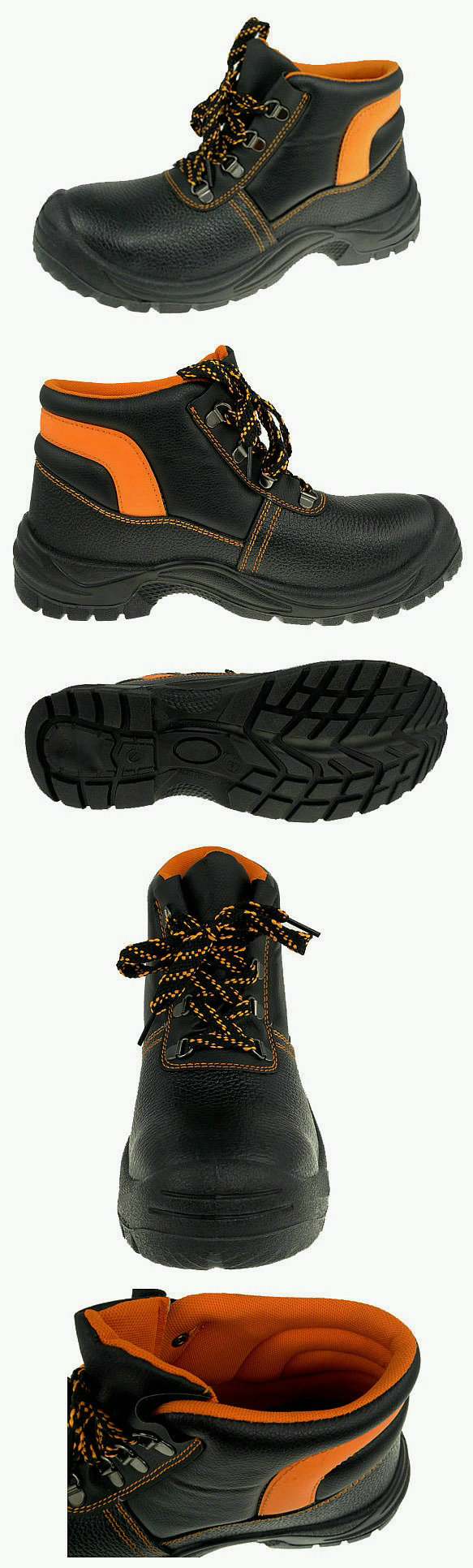Steel Toe and Midsole Safety Shoes
