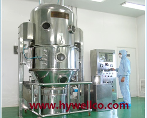 Powder High Efficiency Fluidizing Dryer