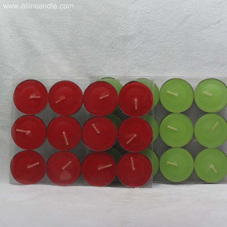 10g 12g 100pcs Scented Candles Tealight Candle