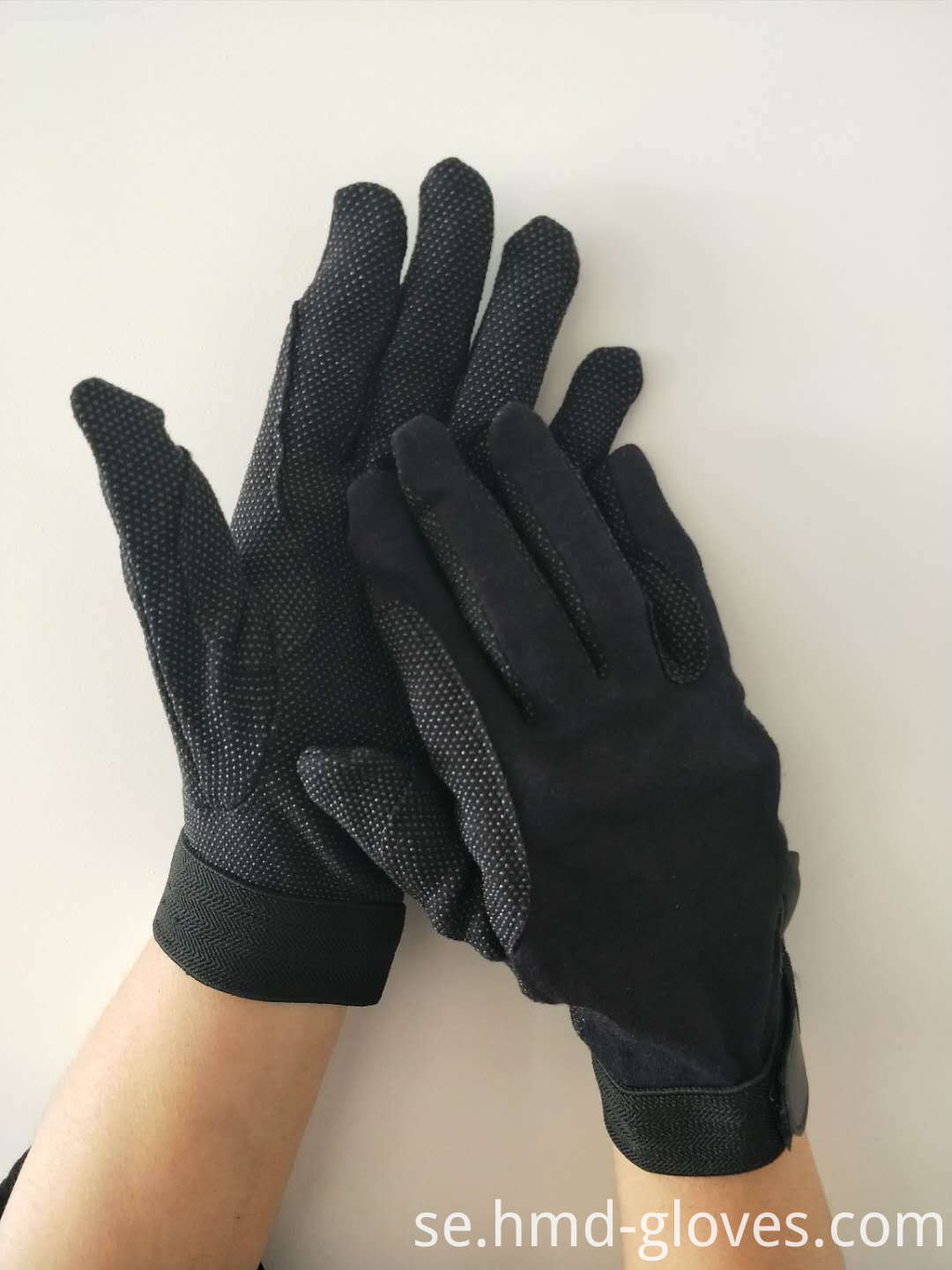 Deluxe Black Sure Grip Gloves