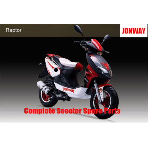 Jonway Raptor Complete Scooter Spare Parts Original Spare Parts