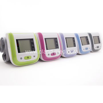 Portable Digital Wrist Blood Pressure Monitor LCD Display
