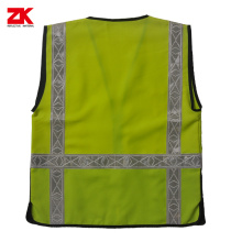 Bottom price for Basic Style Safety Vest EN471 Hi-viz reflective vest safety cloth supply to Botswana Supplier