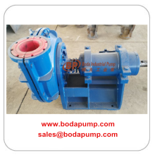 Customized for Horizontal Sludge Pump Wear-resistant Rubber Slurry Pump export to French Guiana Factories