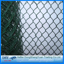 New Fashion Design for Chain Link Fence Panels America Standard Plastic Chain Link Fence supply to Guinea Importers