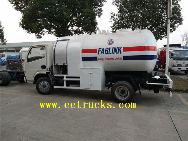 Dongfeng LPG Truck Tanks with Pump