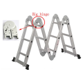 CE certificate aluminum folding ladder