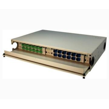 Leading Manufacturer for Rack Mount Optical Fiber Enclosure 19 Inch Drawer Type Rack Mount Patch Panel/ODF export to Poland Supplier