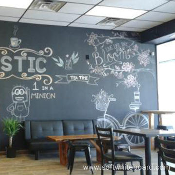 Large Magnetic Wall Chalkboard For Coffee Shop