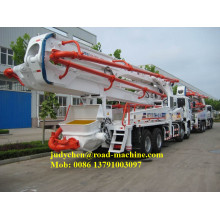 Hot Sale for Portable Concrete Pumps XCMG 47m concrete Boom Concrete Pump Truck export to Belgium Factories