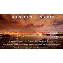 LCL Consolidation Shipping Shenzhen to Inchon