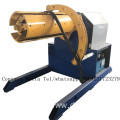 Color steel bending roll forming machine