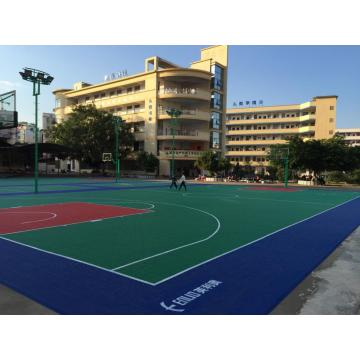 PP basketball court tiles interlocking sports flooring