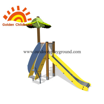 Slide Tower Kids Outdoor Playground Equipment For Sale