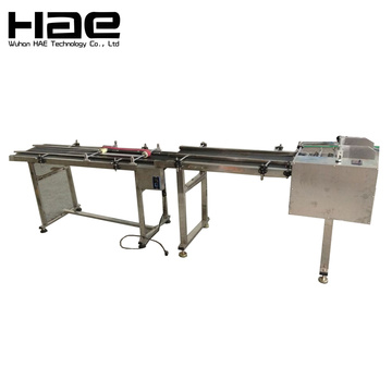 Automatic card sorting machine for inkjet printer