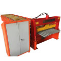 Corrugated roofing tile metal panel roll forming machine
