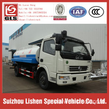 Stainless Steel tanker truck dongfeng truck chassis