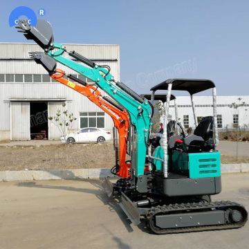 1.8 Ton Mini graafmachine machines met bulldozer