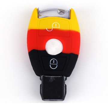 Silicone Car Key Case Shell For Mercedes