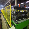 hydraulic cutting floor deck tile forming machinery