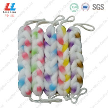 Reliable for Helpful Bath Belt Mix Color Mesh Luxury Bath Belt export to United States Manufacturer