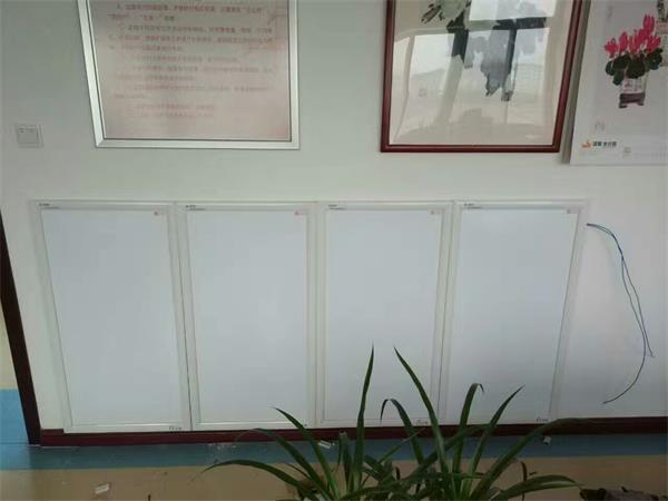 White Infrared Panel installed