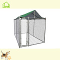 1.5x3x1.82m Galvanized Outdoor Pet Dog Kennel