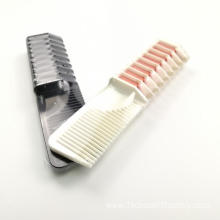 Washable dye-safe temporary color salon Hair Color Comb