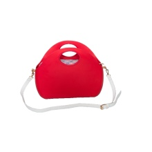 Italy brand beach zip shell handbag for sale