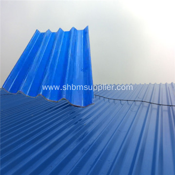 Low-price Fireproof Ecological MgO Corrugated Roof Tiles