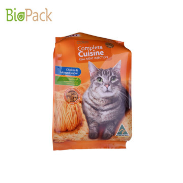 Pet Food Packing Recolsable Plastic Bags, Dog&Cat Food Bag