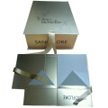 Luxury Gold Ribbon Hot Stamping Gift Box