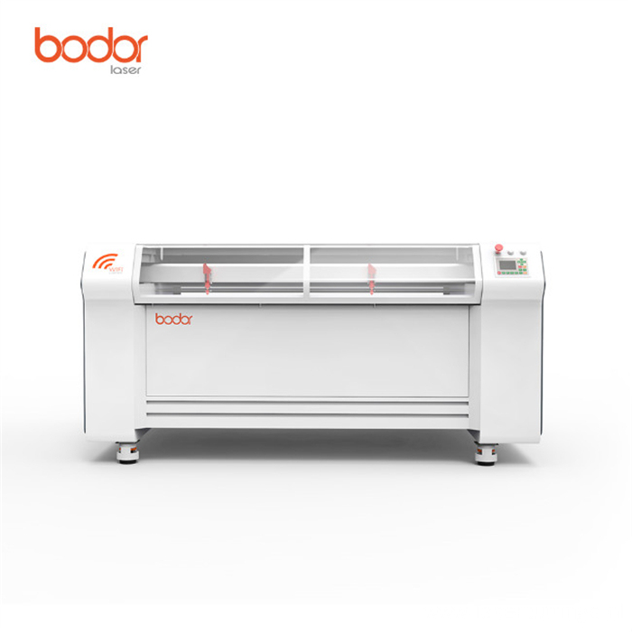 Portable bodor double heads laser engraving machine