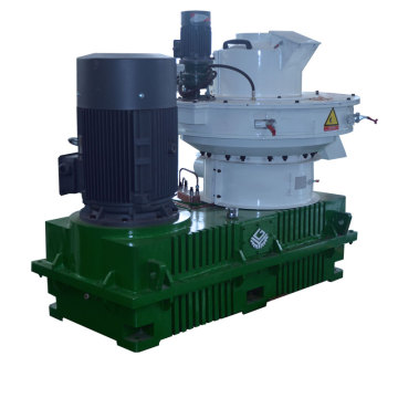 High capacity wood pellet machine