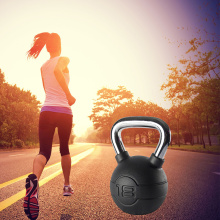 Fitness Equipment Rubber Coated Kettlebell