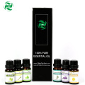 100% PURE AND NATURTAL Compatible emulsion Essential oil set 6 bottles 10ml