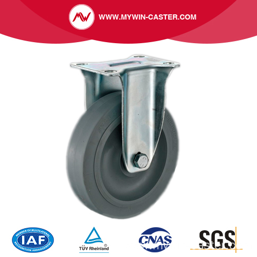 3'' Fixed Medium Industrial TPR Caster With PP Core