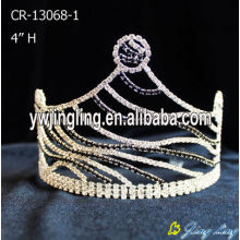 Custom Cheap Rhinestone Zebra Pageant Crowns