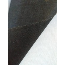 fur coat interlining/woven fusible interlining black
