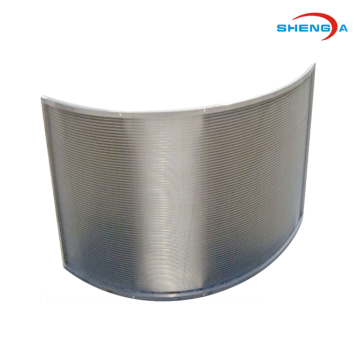 Stainless Steel Wedge Wire Curve Screen
