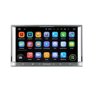 Good Quality for Universal Android Car Dvd Touch silver universal car dvd player supply to Japan Supplier
