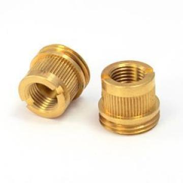 Knurling decorative round insert brass nuts