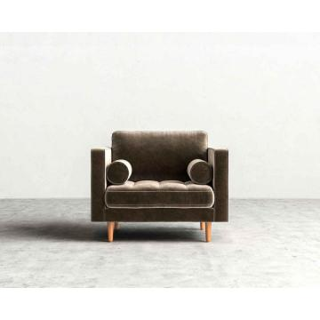 Discount Price for Wooden Living Room Lounge Chair Sven Cascadia Luca wood base armchair supply to Indonesia Exporter